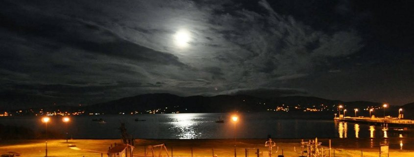 Moonlight Over Lough Swilly