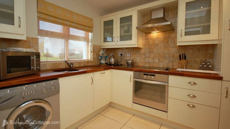 Kitchen of Clearwaters Holiday Cottage Rathmullan