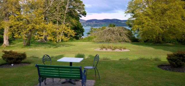 Seat with a view at Rathmullan House