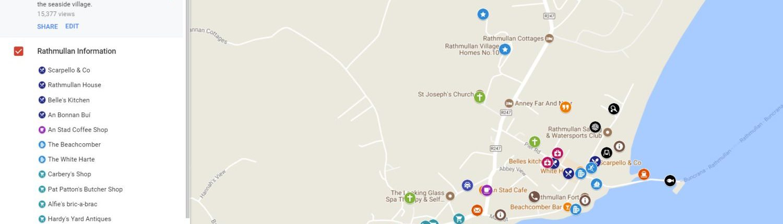 Rathmullan Map