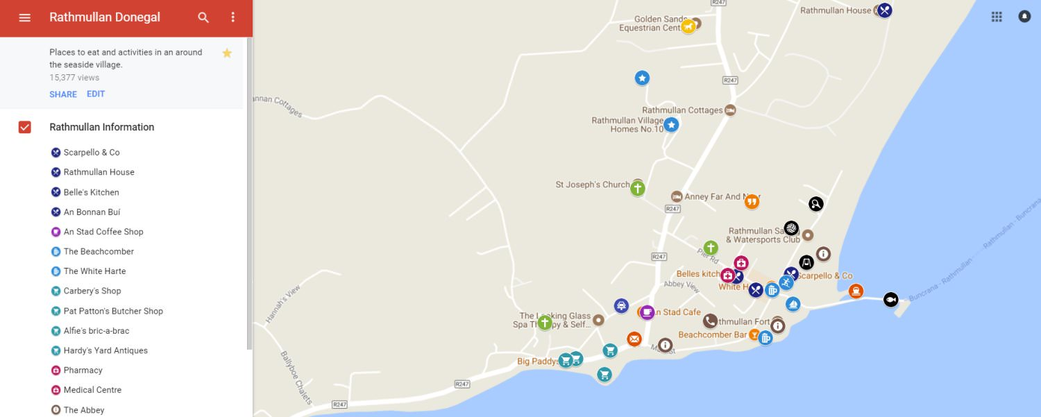 Rathmullan Map