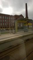 Metrolink-pysäkki Manchesterissa