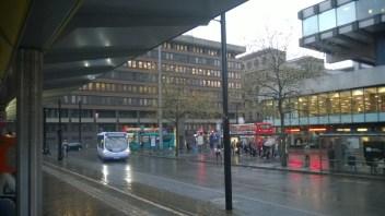 bussihubi Manchesterissa