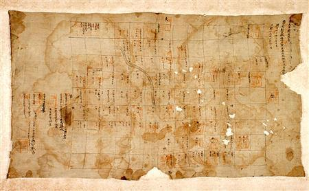 発見された東大寺の荘園図