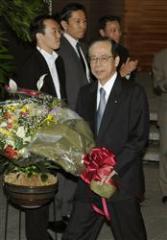 退陣した福田康夫首相(MSN産経ニュース)