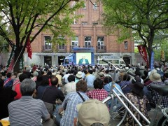 日比谷の憲法集会に来ています