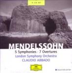 メンデルスゾーン:交響曲&序曲集(アバド指揮、ロンドン交響楽団)