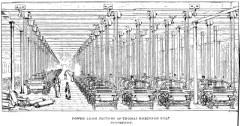 トマス・ロビンソンの力織機工場(ユア『工場の哲学』から)