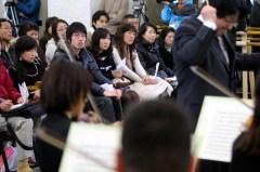 仙台フィル「復興コンサート」(朝日新聞)