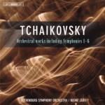 ネーメ・ヤルヴィ指揮チャイコフスキー交響曲全曲集