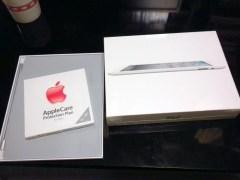 iPad買ったど〜
