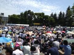 原発ゼロをめざす中央集会(明治公園)