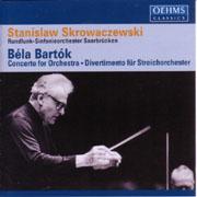 バルトーク:管弦楽のための協奏曲他(OEHMS)