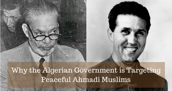 Algerian persecution of Ahmadis