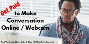 Make Conversation Online, Get Paid