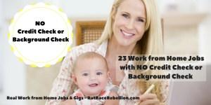 No Credit CheckNo Background Check (1)