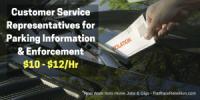Customer Service Representatives for Parking Information & Enforcement - $10 - $12/Hr - RatRaceRebellion.com
