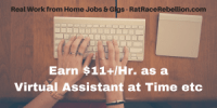 Earn $11%2Fhr.+ as a Virtual Assistant at Time etc (2)