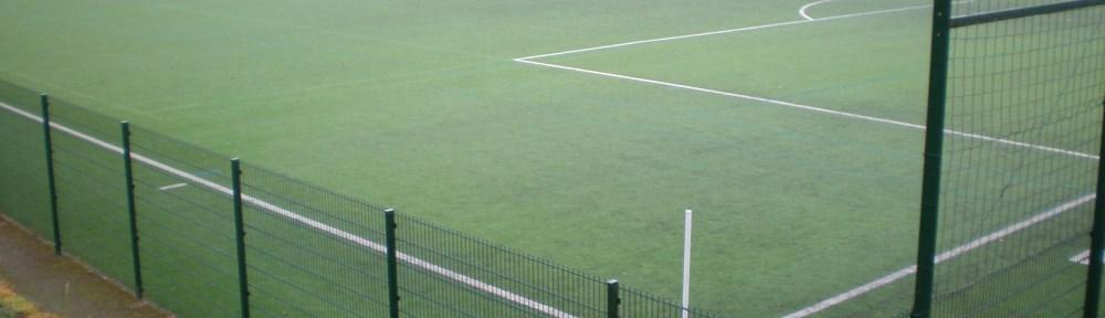 Fussballplatz, Beispielbild
