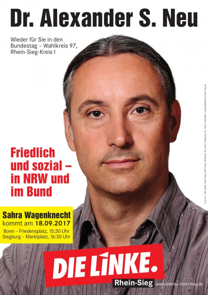 Plakat Alexander Neu