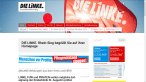 Screenshot der Webseite von DIE LINKE.Rhein-Sieg