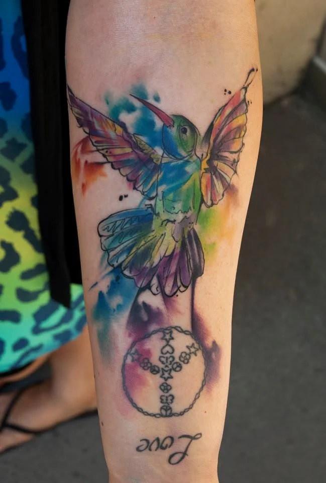 Tattoo Men Meaning Hummingbird