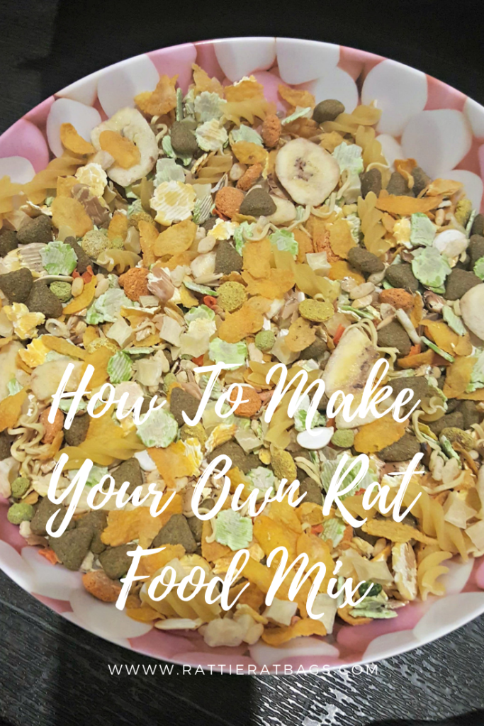 How To Make Your Own Rat Food Mix - www.rattieratbags.com