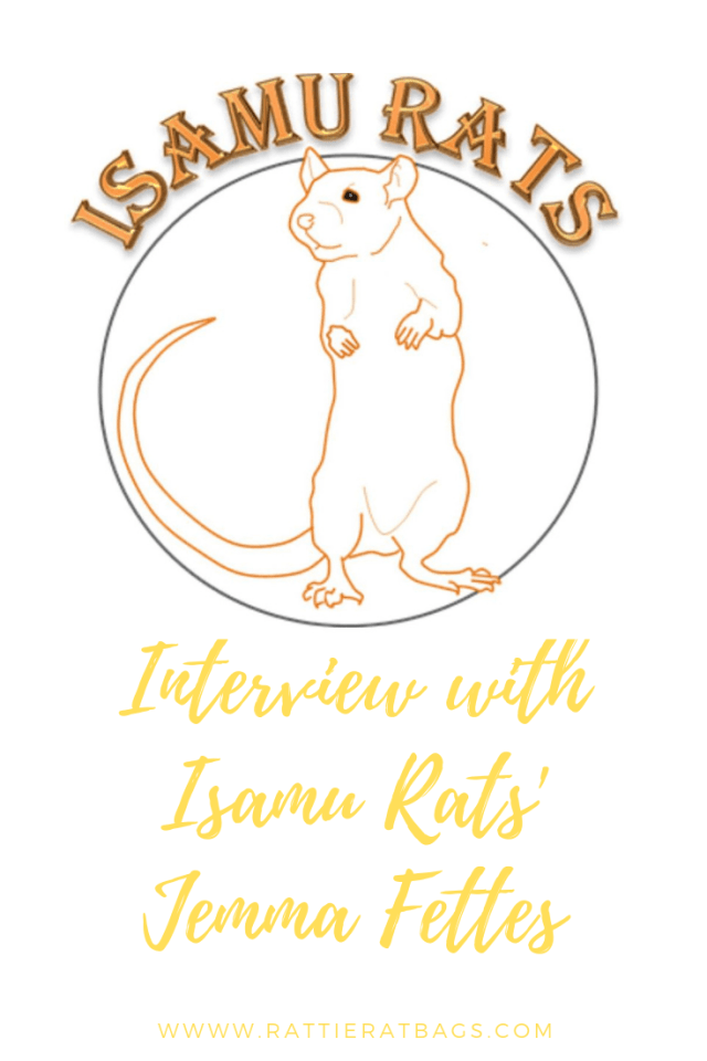 Interview with Isamu Rats - www.rattieratbags.com