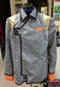 Finished Garrison uniform jacket