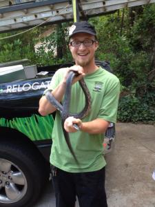 chad snake removal in Johns Creek