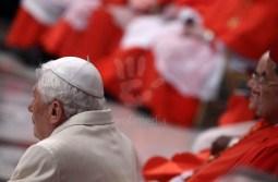 Pope Emeritus Benedict XVI In His First Public Appearance - Feb 22 2014