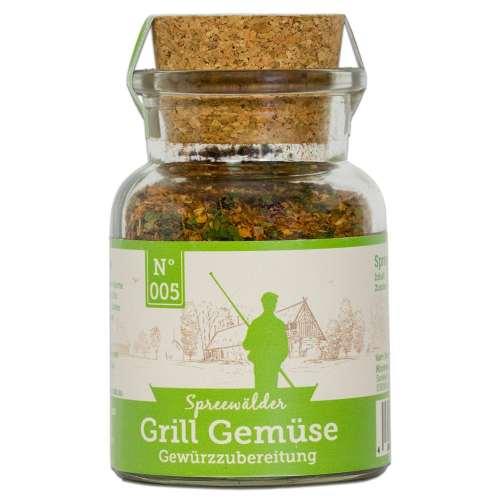 Grill Gemüse Einzelglas