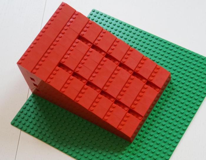 LEGO-Rampe