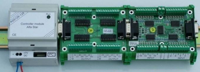 Sistema Distribuido Multifunción RS485 o USB 1.1
