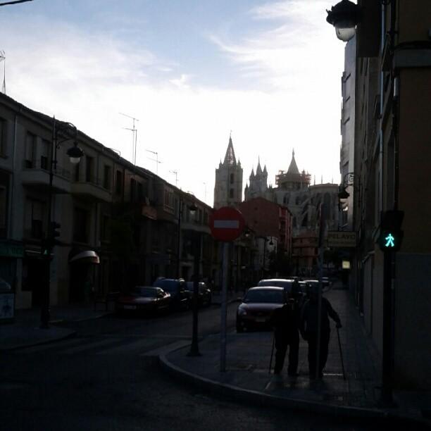 Atardecer en León #igersleonesp #leonesp