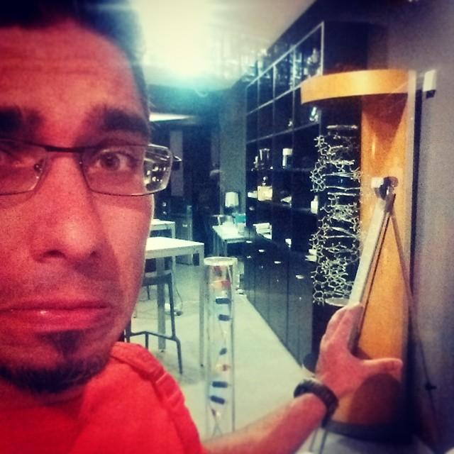 I miss you, my lab :'( #ciencia #DNA @parqueciencias