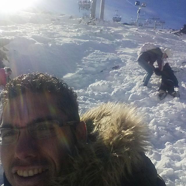 Remontando #SierraNevada #Granada  #snow