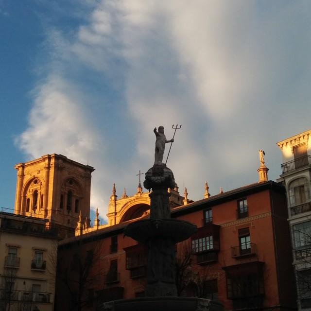 Atardeceres en #Granada #sinfiltros