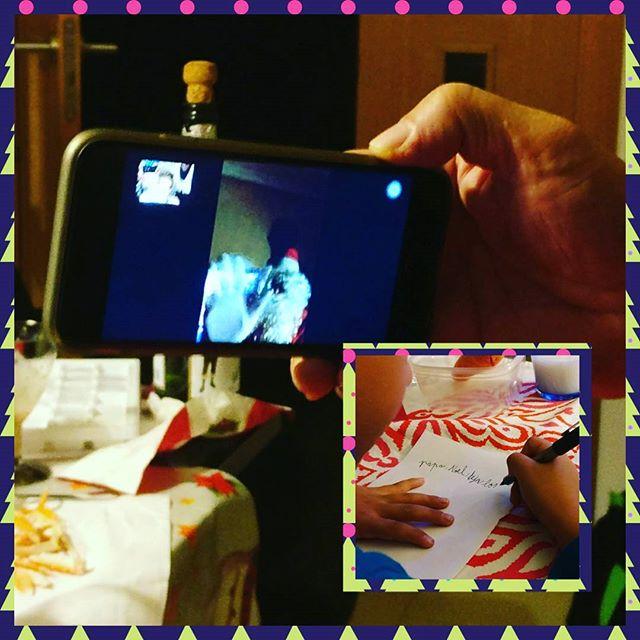 Vídeo llamada tradicional de Papá Noel e instrucciones detalladas de la entrega de regalos  #FelizNavidad