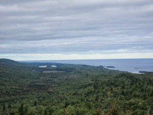 View from Brockway Mountain