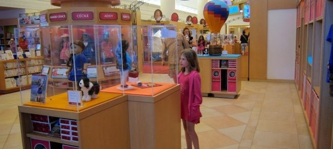 The iconic store that every little American Girl wants to visit