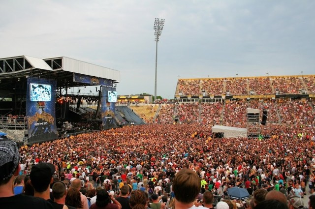 Rock on the Range concert at Mapfre Stadium Ohio