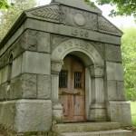 mausoleum in Put-In-Bay Ohio Cemetery