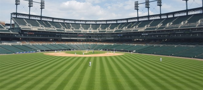 Take me out to the ball game! Behind the Scenes Tour of Comerica Park