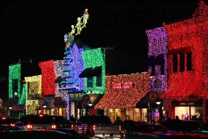 Bright Lights Display