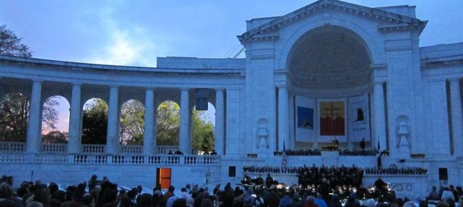Easter Sunrise Service at Arlington Cemetery