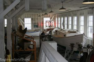 Great Lakes Boat Museum interior view