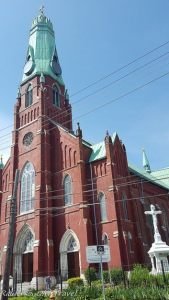 Exterior of St. Albertus Polish Church