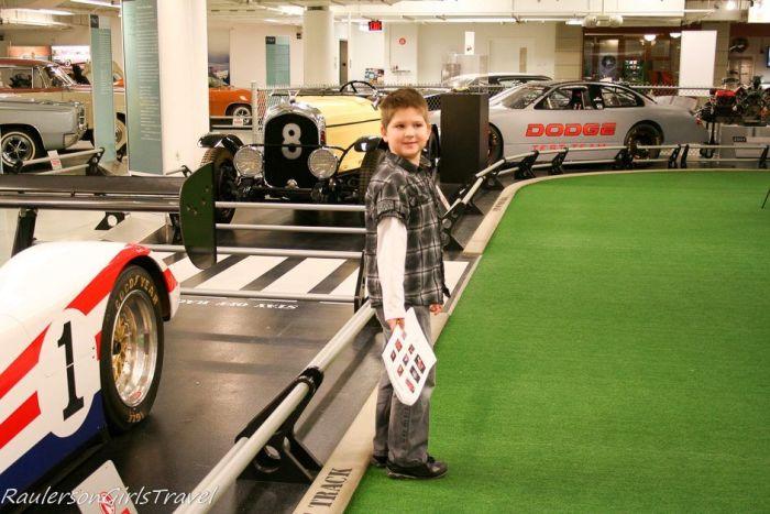 Chrysler Museum Basement Race Track