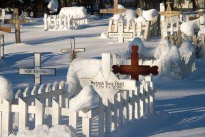 Beaver Village graveyard